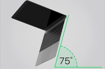From apple's website - how to clean the super-thin macbook pro keyboard with compressed air