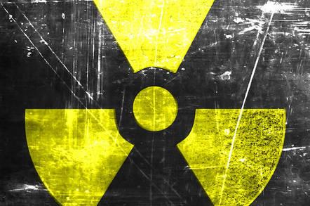 Nuclear radioactivity symbol