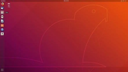 Ubuntu 1804 desktop