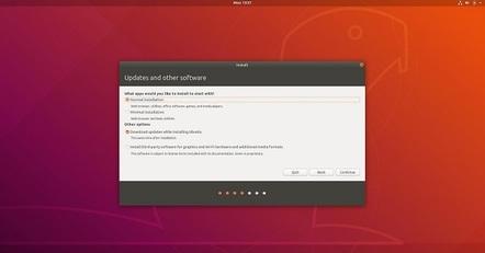 Ubuntu 1804 minimal