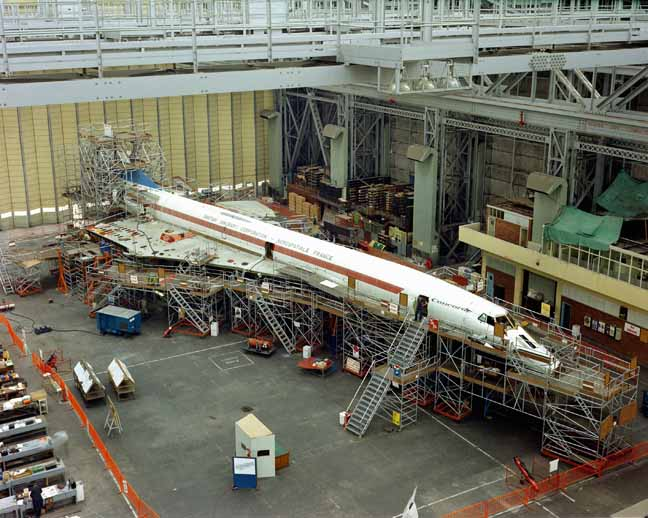 Production of Concorde 001 Filton 1969 photo copyright Airbus SAS 2017 all rights reserved