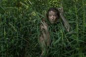 Woman in the Amazon jungle