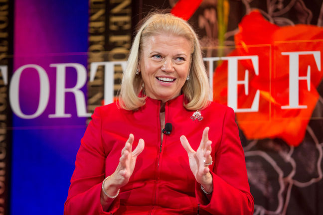 Cloud Computing: Ginni Rometty, IBM CEO