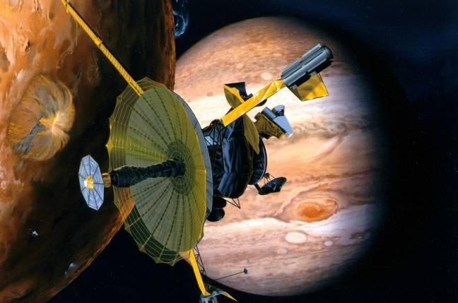 NASA's Galileo Spacecraft (courtesy of NASA / JPL-Caltech)