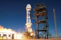New Shepard Launch (pic: Blue Origin)