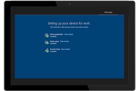 Windows 10 Autopilot enrolment