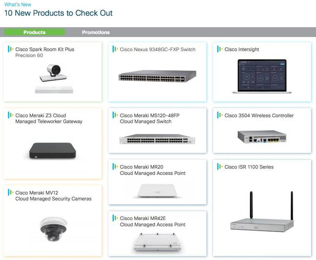 Cisco Start new products