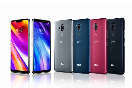 LG G7 ThinkQ full range