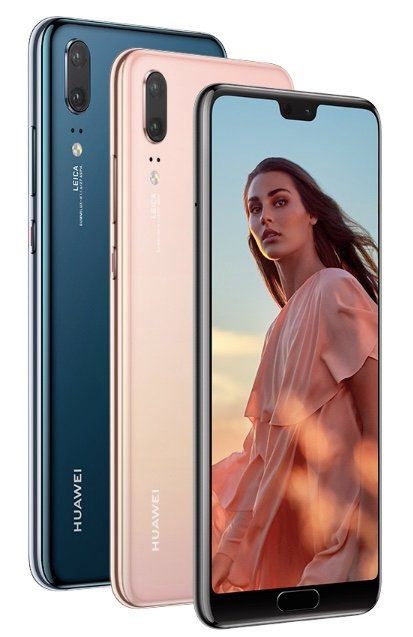 Huawei P20 Three Colours