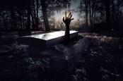 Нежить рука протягивается из могилы
