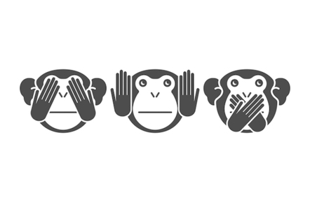 See no evil hear no evil speak no evil