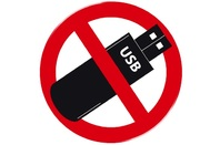 USB Ban symbol
