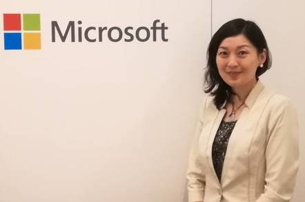 Microsoft Corporate VP Julia Liuson, responsible for programming langauges and tools