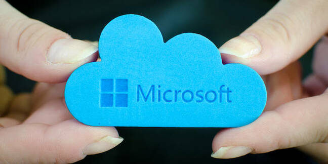 A Microsoft cloud... sorta