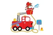 Cartoon fire truck