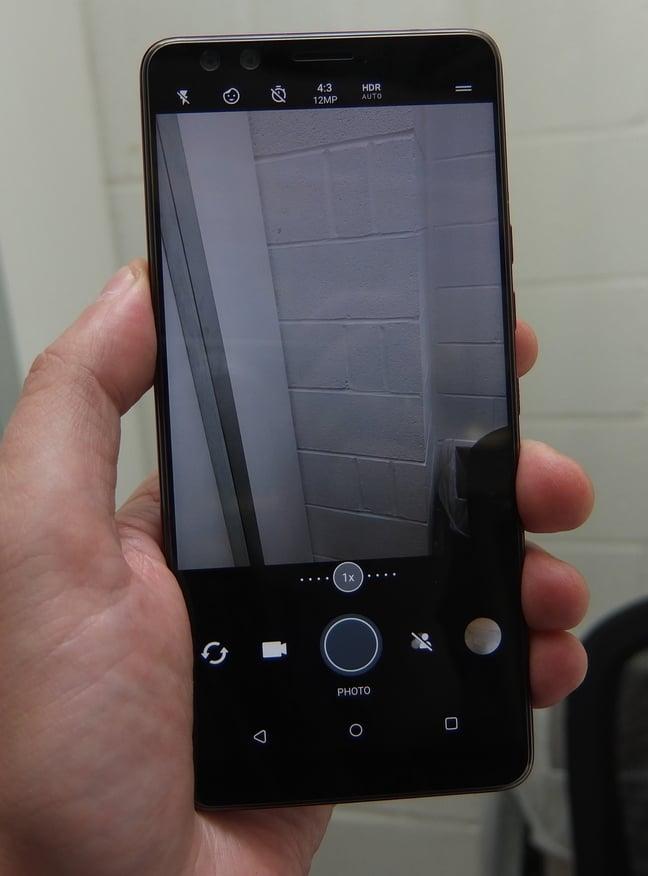 HTC U12 Plus Camera UI