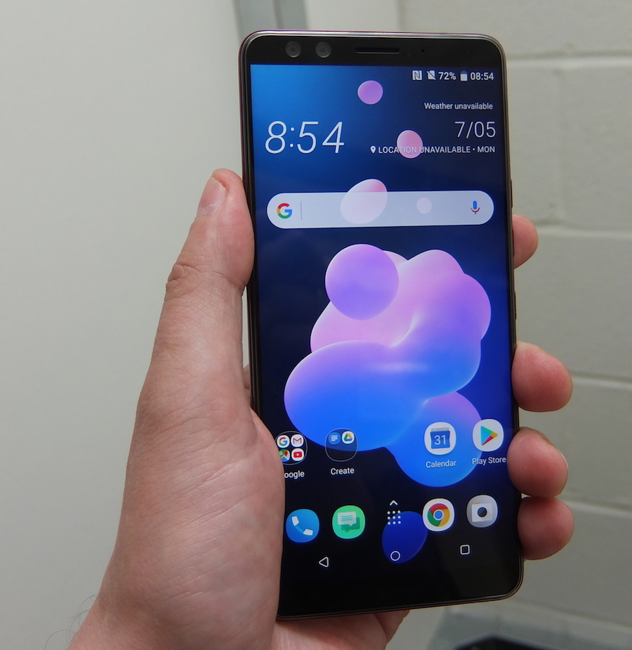 HTC U12+: Like a Pixel without the pratfalls, or eye