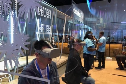 Oculus Go at F8 2018