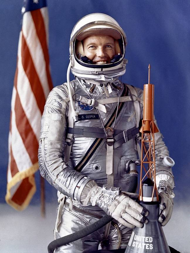 Gordon Cooper (pic: NASA)