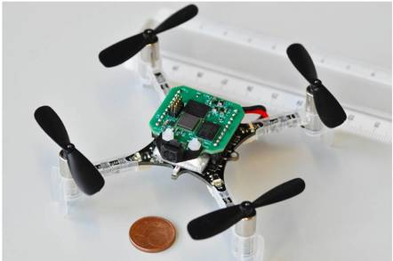 Boffins build smallest drone to fly itself with AI • The Register