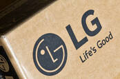 LG logo on box