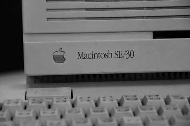 Vintage Macintosh SE/30