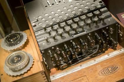 Enigma machine Shutterstock