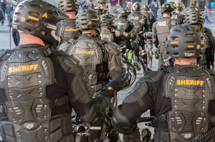 File photo of Police in Seattle, Washington