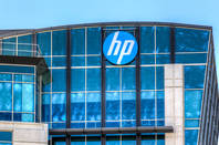 An HP building in Santa Clara