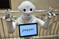 Pepper robot, Shutterstock