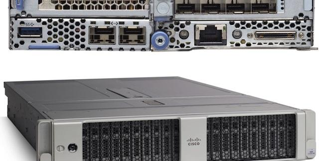 Cisco UCS 4200 chassis and C125 M5 Rack Server Node