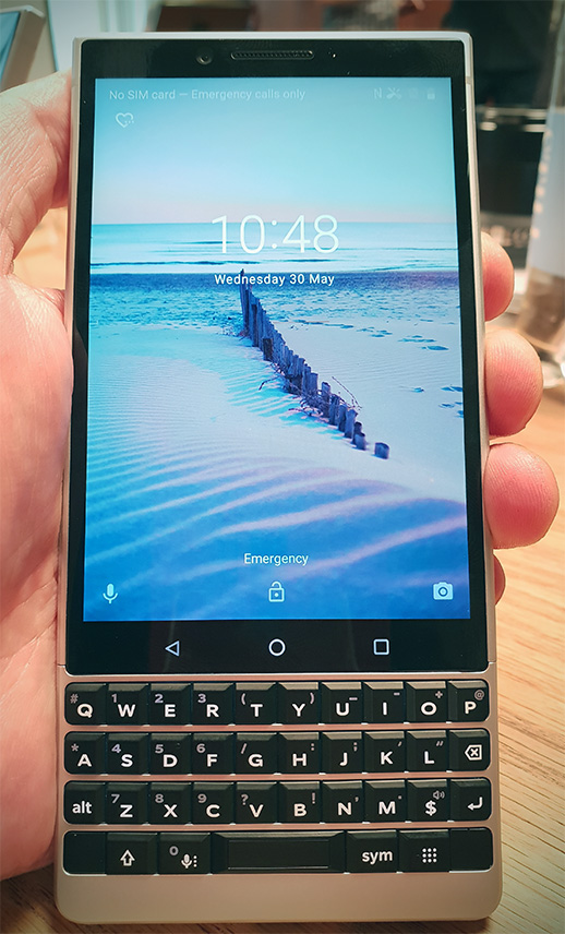 BlackBerry Key2: Clickier, nippier, but how many people still want a