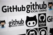 "CIRCA MAY 2014 -the logo of the brand ""GitHub""."