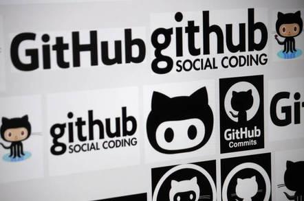 """CIRCA MAY 2014 -the logo of the brand """"GitHub""""."""