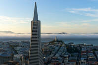 The Transamerica pyramid