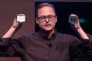 AMD's Jim Anderson holds up a Threadripper 2
