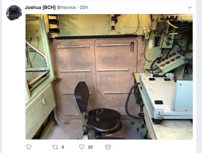 Joshua Yabut's inside-the-APC shot