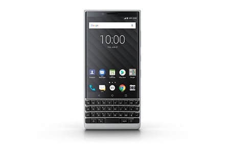 BlackBerry Key2 (official) photo - silver