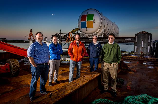 Microsoft Deploys Project Natick Self-Sustaining Underwater Data Center Off Scottish Coast