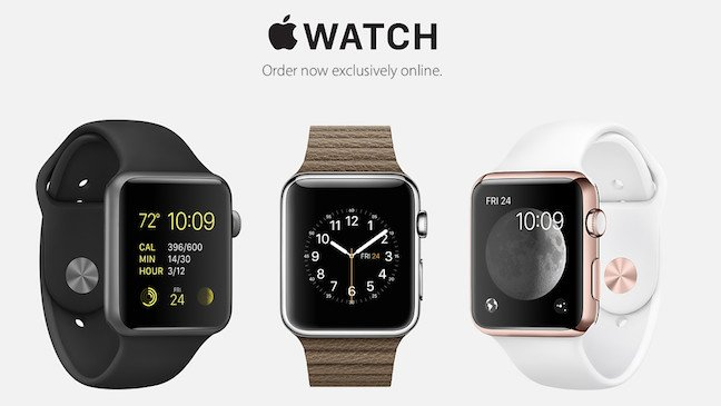 Original Apple Watch 'Buy' page from 2015