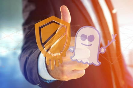 Thumbs up for Spectre-Meltdown protection