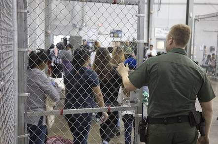 US govt photo of children detained
