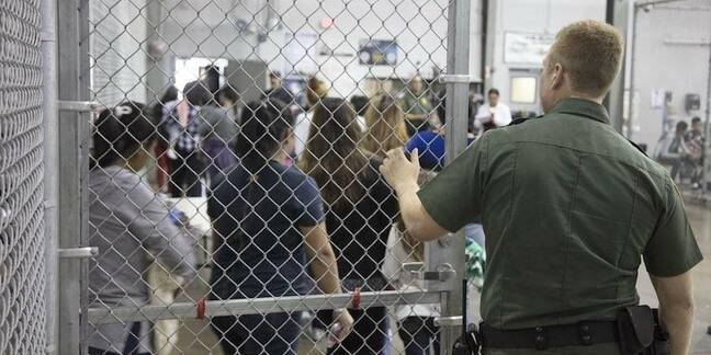 US govt photo of children detained