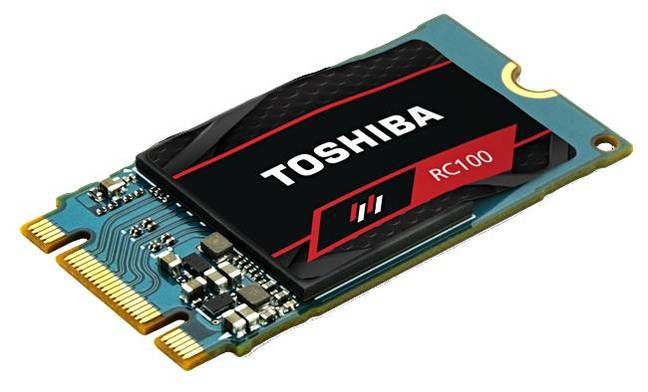 PC nerds: Can't get no SATA-isfaction? Toshiba flaunts NVMe SSD