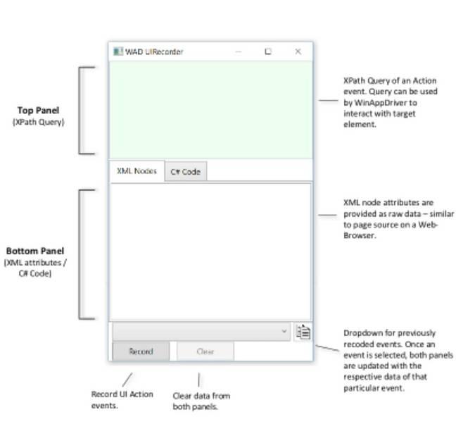 Microsoft UI Recorder