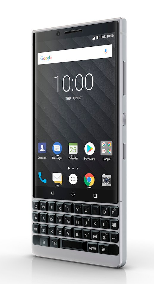 BlackBerry KEY2: Remember buttons? Boy, does this phone sure