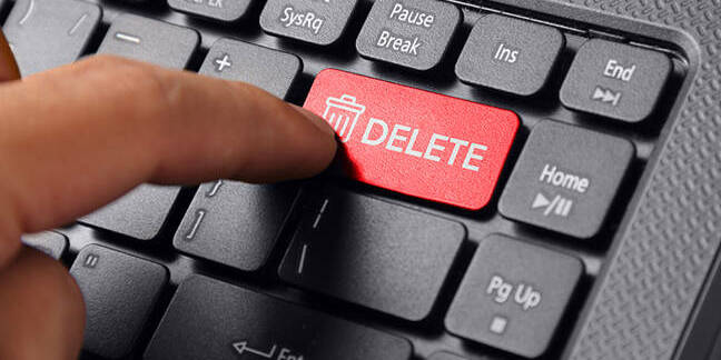 delete