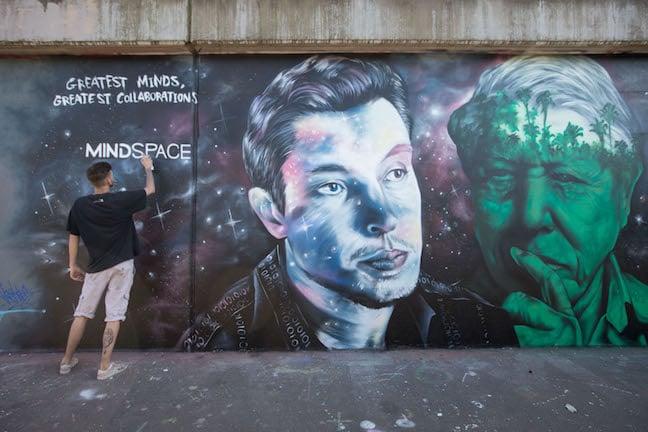 Mindspace Mural, Shoreditch