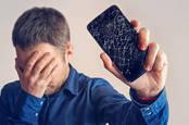 smashed phone