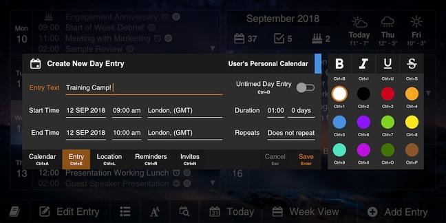 Gemini Agenda app